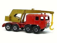 Matchbox Lesney Superfast No.30c Faun 8 Wheeled Crane (RARE SUPERFAST)