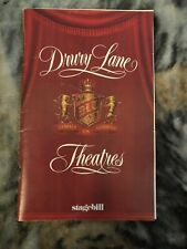 Stagebill Drury Lane Theatres November 1982 Little Me