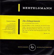 *-Vinyl-Schallplatte- Die ZIRKUSPRINZESSIN - Emerich KALMAN
