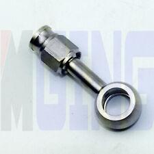 "AN3 3AN Stainless Steel Hose End Brake Fitting Adaptor 10.2mm 3/8"" Eye Banjo"
