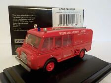 Westland Aircraft Fire Brigade - Land Rover, Oxford Diecast 1/76 New Release
