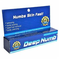 10g DEEP NUMB Numbing Cream Anesthetic Tattoo Piercing Waxing Laser Dr FAST SHIP