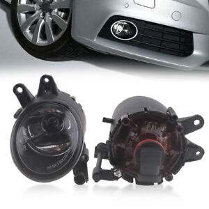 Premium Fog Lights Replacement for 2000-2006 Audi A4 B6 Clear Lens L + R Pair