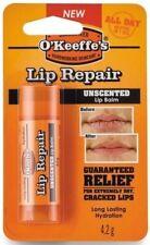 O'keeffe 's Labio Bálsamo para labios Reparación palo para agrietado y labios secos-Sin Perfume