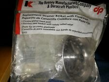 Sink Keeney K22022 Replacement Fix Post Strainer Basket, stainless-steel basket
