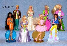 1994 McDonalds Barbie Complete Set - Lot of 8, Girls, 3+