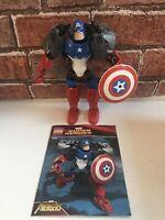 LEGO CAPTAIN AMERICA (4597), Marvel SUPER HEROES, Avengers Buildable Figure
