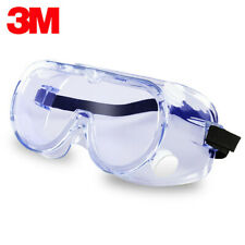 3M Safe Lab Glasses Eyes Protective Goggles Chemical Eyewear Anti-Drople