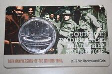 (PL) 2012 Australia Anniversary Kokoda Trail 50C Coin UNC ROYAL MINT RAM