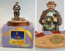 Emmett Kelly Watch The Birdie 1991 Stanton Arts Inc, Limited Edition W/Box