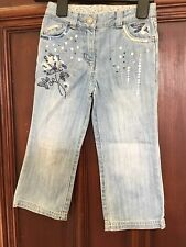Girls NEXT Sequin Trim Jeans Age 3 Years