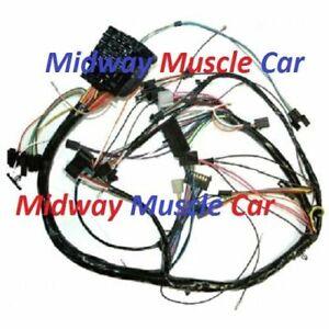 under dash wiring harness w/ fuseblock 70 71 Chevy Camaro ss rs/ss z/28
