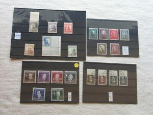 Briefmarken Österreich ** / o, u.a. Michel-Nr. 545-550 ** aus Nachlass