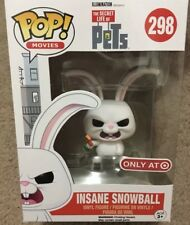 Funko Pop The Secret Life of Pets Insane Snowball Rabbit Vinyl Figurine #298