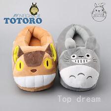 """ANIME mon voisin totoro peluche chat bus Slipper Chaussures poupée jouet doux 11"""" 28 cm"""