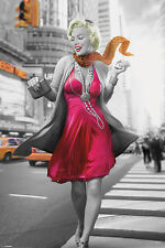 Marilyn Monroe - NEW YORK WALK Movie Poster Single Sided 24X36 inches