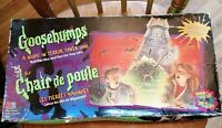 Goosebumps A Night In Terror Tower Game MB Board Game 1996 Rare SPARES ONLY