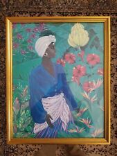 "Fiona Martin African American Framed  Art Print 21.5"" x 17.5"" Image 19.5"" x 15"""