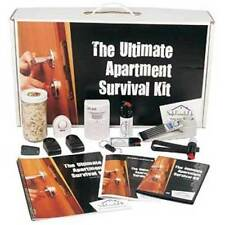 ULTIMATE APARTMENT SURVIVAL KIT, COMBINES SAFETY AND SELF DEFENSE PRODUCTS