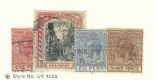 Bahamas, British, Postage Stamp, #71-72, 75, 76 Used, 1921-34