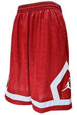 Jordan NIKE FLIGHT DIAMOND CLOUD Basketball Shorts men LARGE NWT RED 799544-687