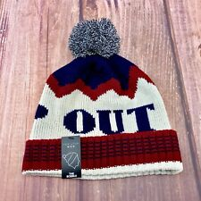 Mens New Look Hats Beanie Bobble Winter Drop Out RRP 9.00