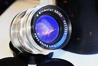 RARE SILVER Carl Zeiss Jena DDR Biometar 80mm f/2.8 Germany SLR lens M42 SUPER
