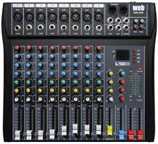 😲 MIXER AUDIO PROFESSIONALE STUDIO 8 CH. KARAOKE DJ STUDIO CON DISPLAY + USB 😲