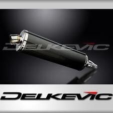 "Kawasaki J300 18"" Carbon Fiber Oval Muffler Exhaust Slip On 14 15 16"