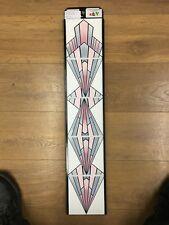 "J DAY - VB1 ""ART DECO DIAMOND"" CAPITAL Fireplace Tiles Set 5 Tiles Ex Display"