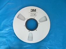 3M Take Up Aluminum Reel  HD Sides 6 Screws 1/2  by 10.5  no box Vintage