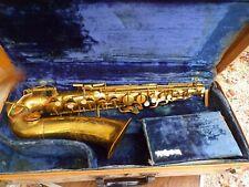 Saxophone Buescher Ser.18717 20 A Elkhart Vintage