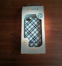 "Speck Fitted-""Black&White Criss-Cross Highway Enigma"" For iPhone 4/4s"