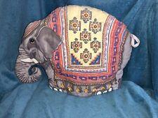 Retro Vintage 1983 Sari Quilted Fabric Elephant Tea Cosy FREE P&P