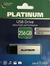 Platinum 256GB USB Stick, Alu USB 3.0