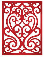 NEW ✿ Large Elegant Flourish Heart Card Front Frame Die ✿ For Cuttlebug Sizzix ✿