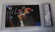 Patrick Pat Smith Signed 2000 Epoch K-1 Grand Prix Card PSA/DNA UFC 1 Autograph
