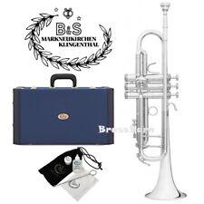 B&S 3137 2-S Challenger II Bb Trumpet Silver Plated BrassBarn