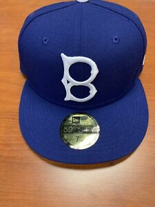 NEW W STICKER - Brooklyn Dodgers Vintage Cooperstown 50Fifty Hat -7 1/8-MSRP $37