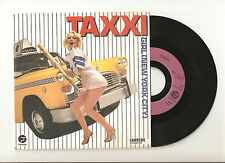 "TAXXI: Girl (N.Y. City) / How to say I'm leaving - 7"" 1982 FANTASY CARRERE 49899"