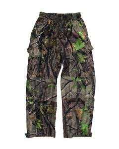 Selvaggio Tree Pantaloni da Caccia Mimetici HD Reale Camo Taglia M Sniper