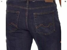 Urban Star men's jeans - relaxed fit - straight - 38x34 - DARK WASH BLUE - NEW