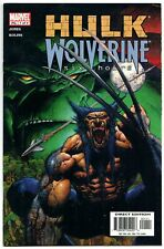 Hulk Wolverine Six Hours #1 (Marvel, 2003) VF
