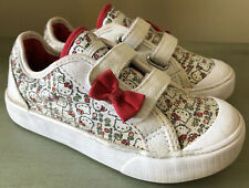 KEDS sz 10.5 Children's Girls HELLO KITTY White/Red Sneakers Shoes