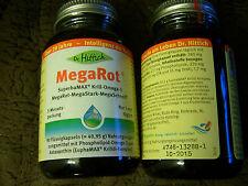 Mega Rot Dr Hittich SuperbaMAX Krill Omega 3 90 Kapseln 3 Monatspackung MHD 0616