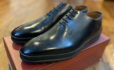 Bally Redison Mens Black Calf Lace Up Oxfords Shoes Hybrid Size 8.5EEE US NIB
