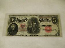1907 United States Note $5 -Red Seal