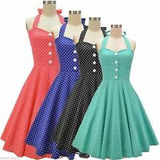 Rockabilly Cotton Blend Vintage Clothing for Women