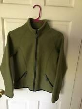 Ibex Olive Boiled Wool Jacket Womens Sz. Xs Long Seeved Excellent