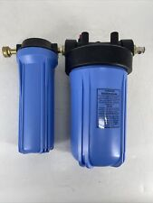 Whole House Water Filter Set-Up Big Blue Inline Filter System NEW WITHOUT BOX
